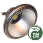 AR111 - 7 Watt Sharp LED - dimbaar!  lichtbeleving 50 Watt