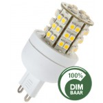 G9 LED - LAMP - 230V - dimbaar - 4 WATT vervangt 40 Watt