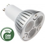 LED lamp | 3x1 Watt | GU10 | Dimbaar | vervangt 25 Watt