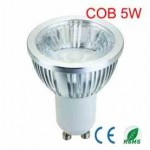 LED lamp Sharp COB led met reflector | 5 Watt | GU10 | dimbaar | lichtbeleving 50 Watt