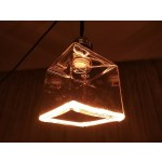 Segula LEDlamp | E27 | 8W | LED Floating CUBE 2200K | dimbaar | lichtbeleving 40 Watt