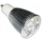 LED lamp | 3x3 =7 Watt Cree | GU10 | Dimbaar | vervangt 50 Watt