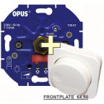 Opus LED dimmer voor 230v LED Lampen - PLUS Opus frontje
