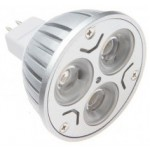 LED lamp | MR16 | Cree 3x2Watt | 2700K | lichtbeleving 35 W