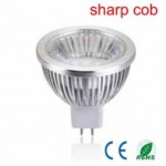 LED lamp Sharp COB led met reflector | 5 Watt | MR16 | dimbaar | lichtbeleving 50 Watt