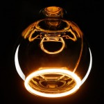 Segula LEDlamp | E27 | 8W | LED Floating Globe 125 smokey black 2000K | dimbaar | lichtbeleving 40 Watt